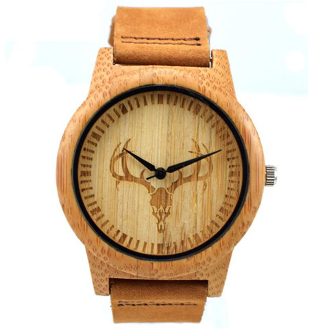 YUELANSHI Wood watch  Hot Sell Men Women Fashion Wooden Watches with Genuine Leather Luxury Quartz WristWatch Gifts Multan