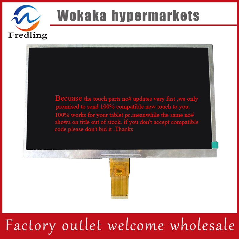 DX010BE40F0 YCX new 10 1 inch 10 6 inch 1024x600 40PIN Tablet LCD There are two