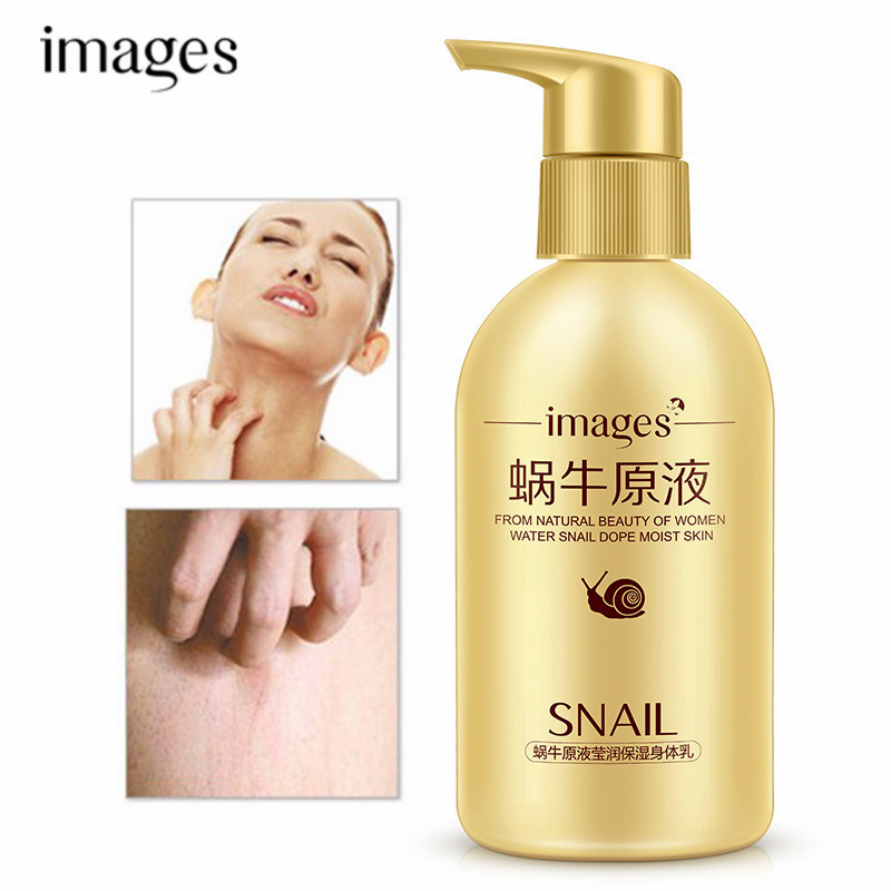 Snail Serum Körper Creme Pflegende Feuchtigkeits Körper Emulsion Anti Aufspringen Anti Aging-Bleaching Straffende Lotion Hautpflege 250ML