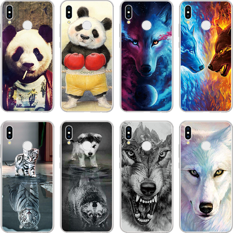 Animal TPU Cover For Huawei P8 P9 P10 Plus P20 Pro Lite Mini 2017 Mate S 7 8 9 10 20 Pro Lite Coque For Huawei P Smart 2019 Case