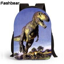 12 inch Children Kindergarten School Bags Dinosaur Backpacks Kids Schoolbag Bag Printing Preschool Backpacks For Boys F771319