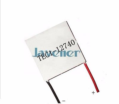 купить TEC1-12740 Heatsink Thermoelectric Cooler Peltier Cooling Plate 338W 62x62mm Refrigeration Module по цене 1553.74 рублей