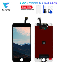 VJIFU For iPhone 6 plus LCD 100% Good Working Touch Screen Digitizer Display Assembly For iPhone 6 Plus Free Shipping+Gifts цена и фото