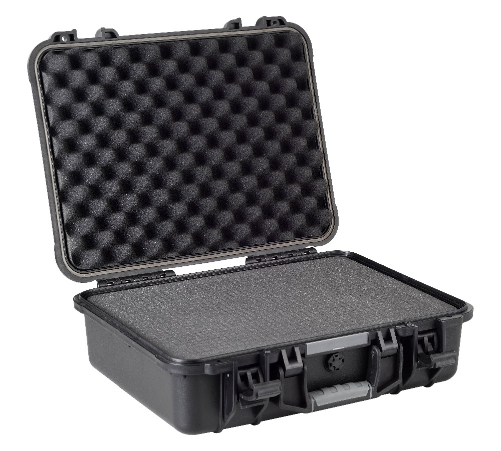 shockproof dustproof customized equipment case with full precut cubed foam  цены