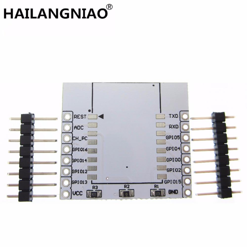 ESP8266 Serial WIFI Module Adapter Plate Applies To ESP-07, ESP-08, ESP-12