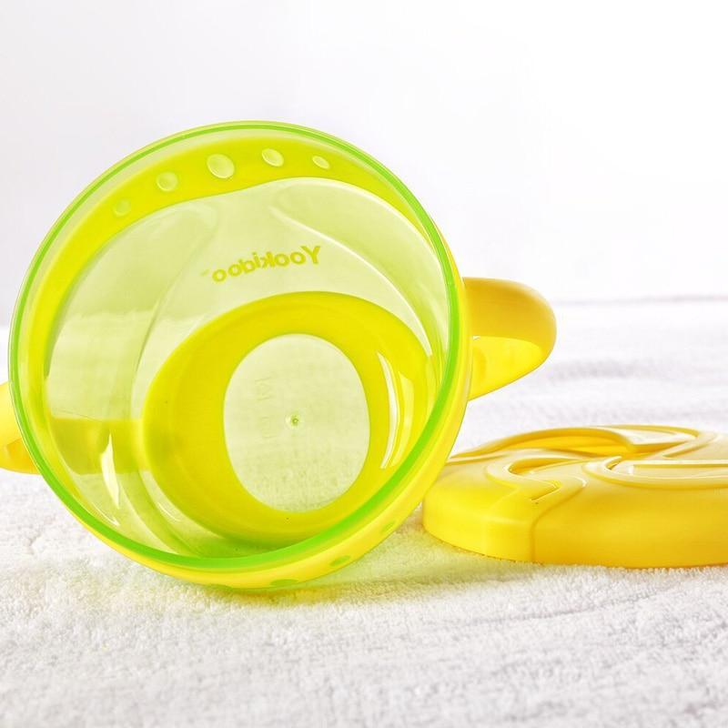 Baby Non-Spill Snack Cup Mekana plastična prijenosna Snack kontejner - Hraniti - Foto 3