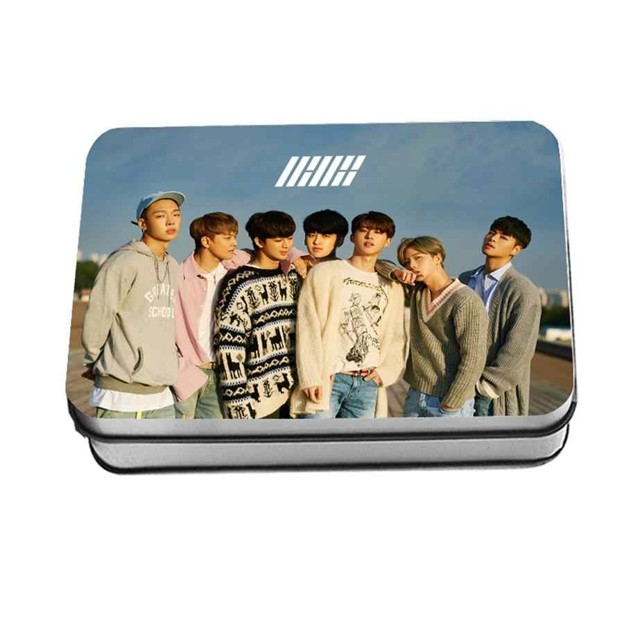 Kpop iKON Return Album Polaroid Lomo Photo Cards Fashion HD Photocard Poster YG 40pcs