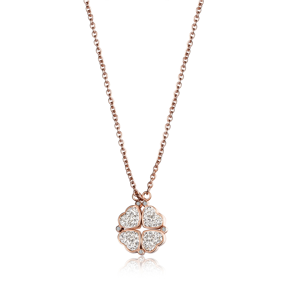 Wistic women personalized diy pendant necklace rose gold for Rose gold personalized jewelry