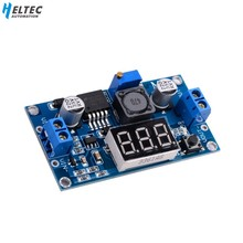DC 4.0 ~ 40-1.3-37 V LED Voltmeter Buck Step-down Power Converter Module LM2596(China)
