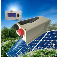 خارج الشبكة الشمسية نظام المنزل 48 فولت-230v3000w الشمسية العاكس ل آلة الآيس كريم ، شاحن العاكس مكيف الهواء
