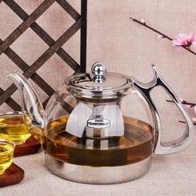 Freies verschiffen hitzebeständigem glas teekanne elektromagnetischen ofen multifunktionale teaports induktionsherd wasserkocher
