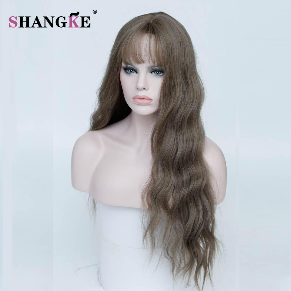 shangke долго странный вьющиеся каштановые волосы