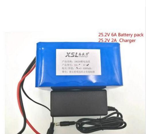 24 V 6ah 6s3p 18650 rechargeable Li ion battery 25.2 V 6000 MAH moped electric bicycle / electric / lithium ion battery battery 30a 3s polymer lithium battery cell charger protection board pcb 18650 li ion lithium battery charging module 12 8 16v