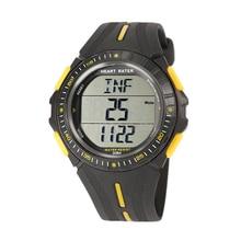 Топ предложения многофункциональный спортивные двойной время импульса сердечного ритма Мониторы часы W/нагрудный Цвет: черный + желтый/синий