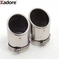 For Mazda CX-5 CX5 2013 2014 2015 2016 Stainless Steel Exhaust Muffler Tip End Silencer Decoration Car Accessories