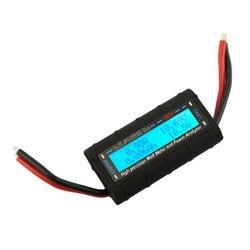 G. T. Power RC analizator mocy watomierz dla napięcia (V)  prądu (A) moc (V) pojemność (Ah) i pomiar energii 130A w Mierniki mocy od Narzędzia na