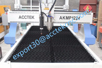 Shandong Acctek metal plamsma cutter machine 3d wood acrylic cnc cutting cnc router machine AKMP1224