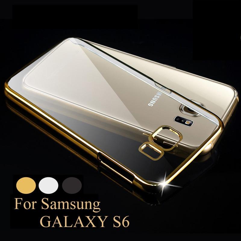coque galaxy s6 en or