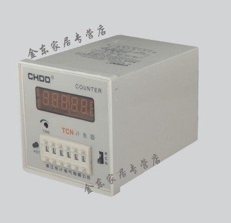 CHDD 220 V Ac électronique Intelligent 6 Digt compteur numérique TCN-41A TCN-61A