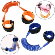 Adjustable Baby Safety Walking Harness Child Wrist Leash Anti-lost Strap Kids Hand Belt Walking Assistant Baby Walker Wristband