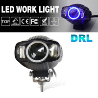 CO LIGHT Offroad Work Light 25W Additional Lights 4 3000Lm Spot Led Lamp For Auto Motorcycle