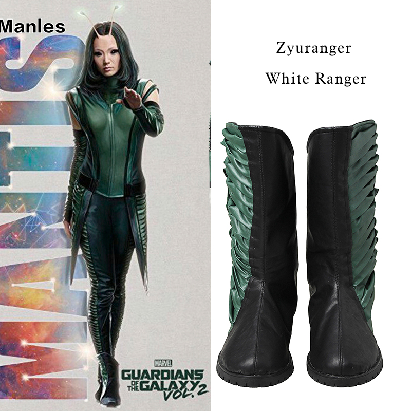 Guardians of The Galaxy 2 Cosplay Shoes High Boots Mantis Lorelei Cosplay Shoes Boots Halloween Accessorie Prop Custom Made