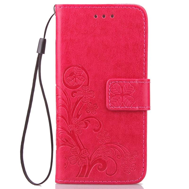 Dla iPhone 5S 4S 5 6 S 6S 8 7 Plus Skórzane etui z klapką do - Części i akcesoria do telefonów komórkowych i smartfonów - Zdjęcie 4