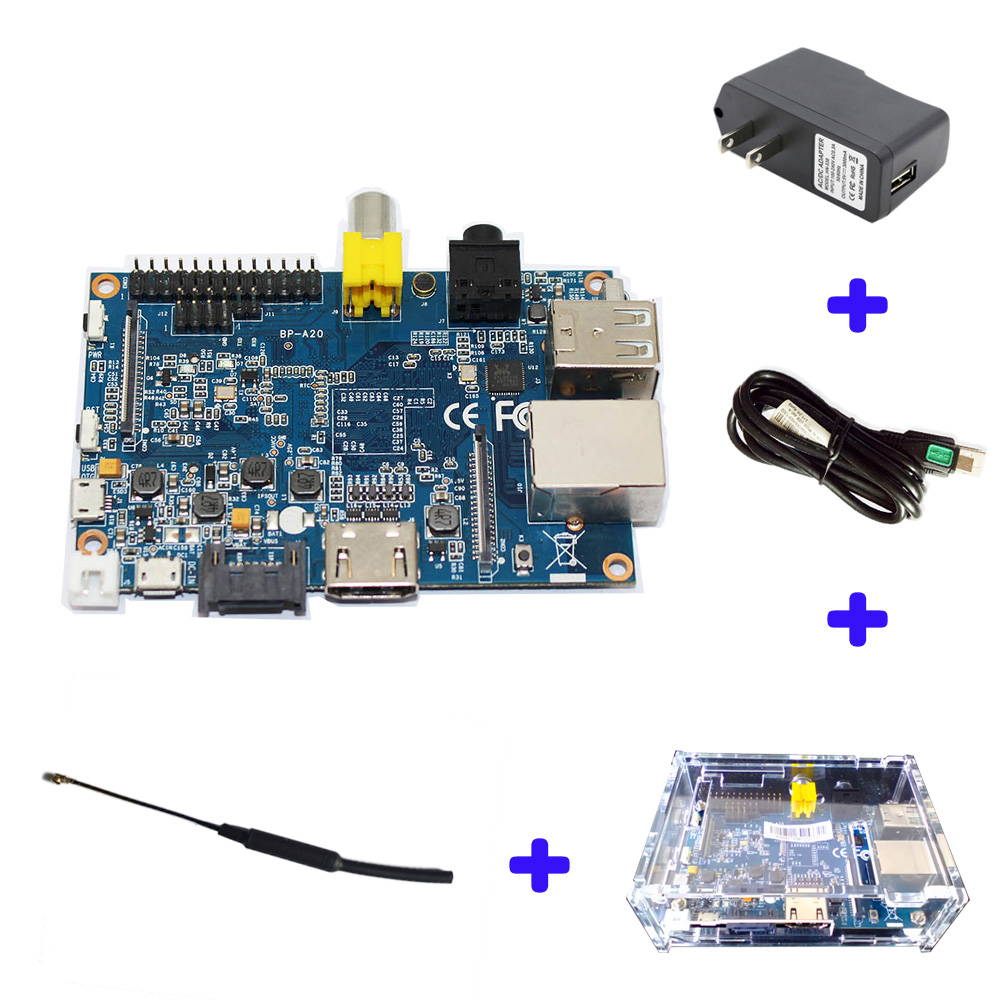 Original Banana Pi BPI M1 A20 Dual Core 1GB RAM Open-source Development Board Single Board Computer Raspberry Pi Compatible