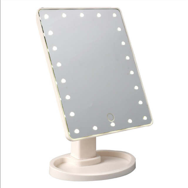 professional vanity mirror with lights. 16 22 LED Touch Screen Makeup Mirror Professional Vanity Lights  Health Beauty Adjustable Countertop