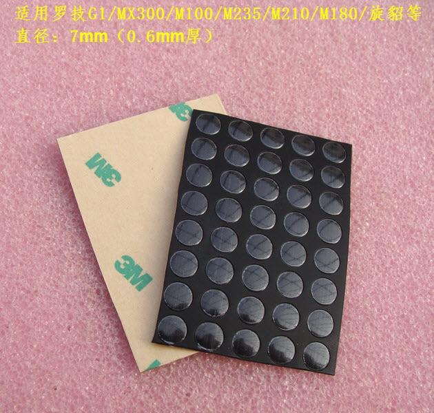 40pcs/pack 3M mouse feet mouse skates for Logitech G1/MX300/M100/M235/M210/M180/ 0.6mm thickness Teflon цены онлайн