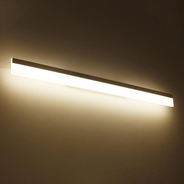 Modern bathroom / toilet LED front mirror wall lamp bathroom acrylic ...