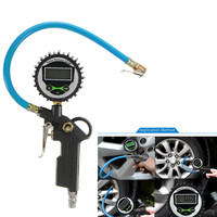 LCD Air Tire Pressure Inflator Gauge Car Truck Vehicle Digital Dial Meter Tester