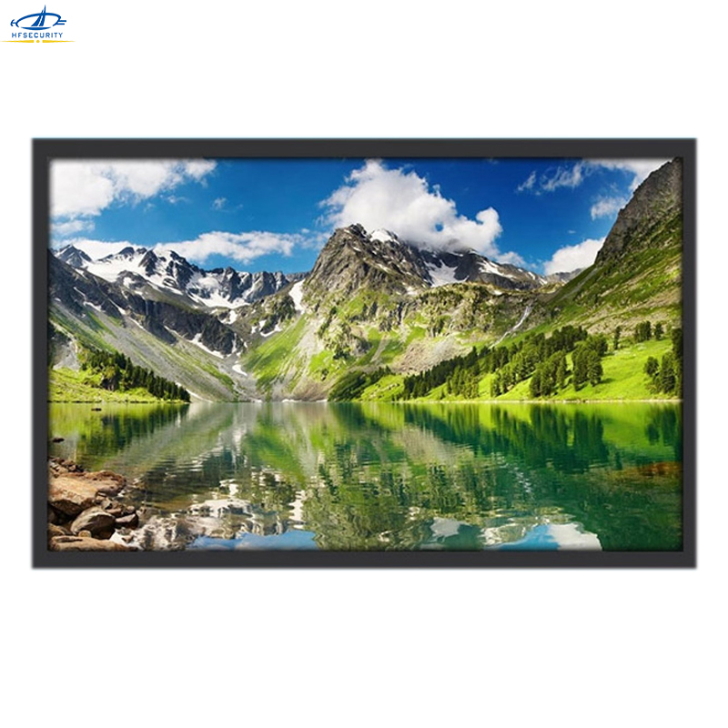 HF 19 Inch 1280 * 1024P HD VGA HDMI BNC CCTV Monitor For Video Surveillance  IPS Screen Gaming Display For DVD NVR PC Laptop 2