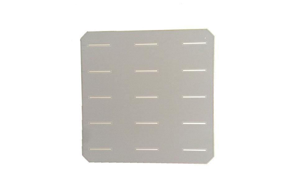156*156mm silício monocristalino fotovoltaico categoria solar a