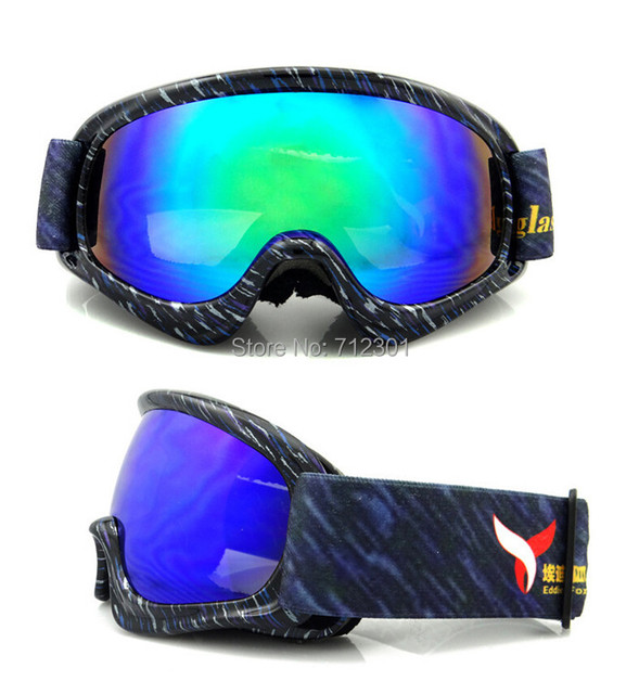 5988e829e0 Ski Goggles for Boys Girls REVO Plating Lens