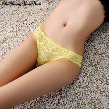 Sexy Lace Panties Transparent G string Underwear Women T Panty Lace Briefs Lingerie Low Waist Intimates for Ladies Tangas ZM1509