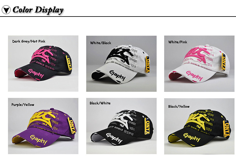 """Embroidered """"Bat"""" Baseball Cap - Available Colors"""