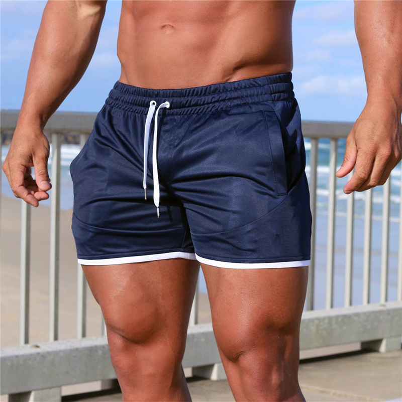 Fashion Men Sporting Beaching Shorts Trousers Bodybuilding Sweatpants Fitness Short Jogger Casual Gyms Men Shorts