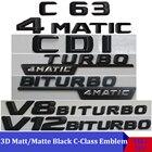 3D Matt Black W204 W...