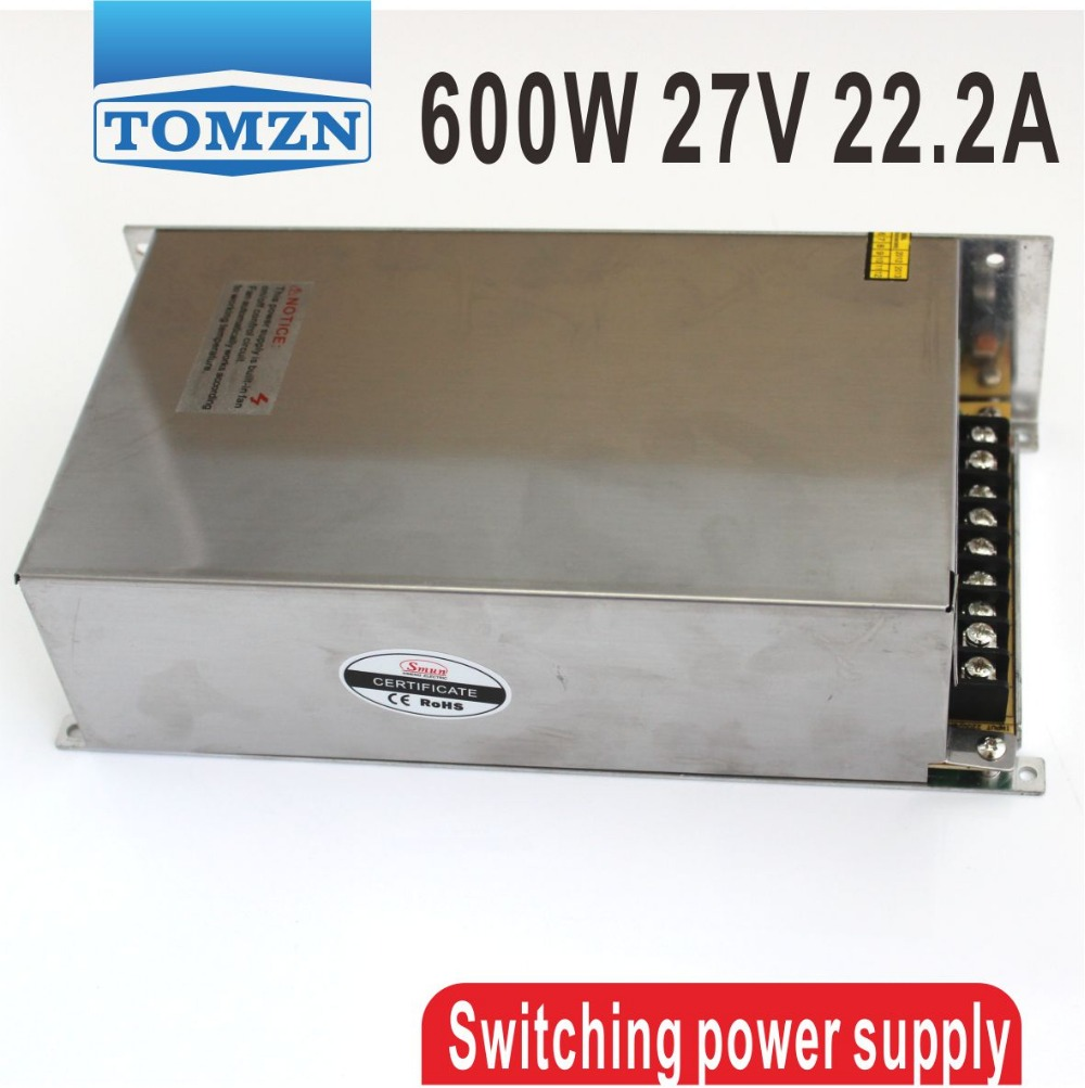 ФОТО 600W 27V 22.2A 220V input Single Output Switching power supply AC to DC