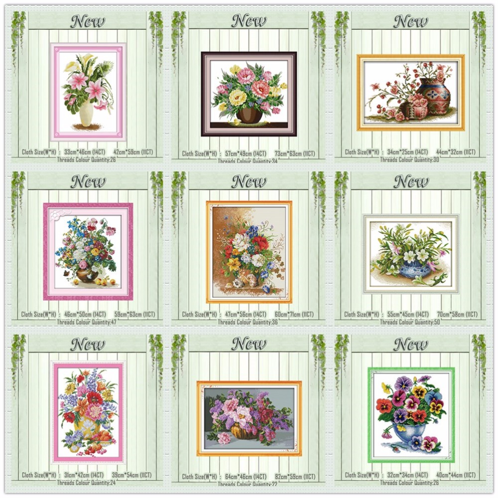 DOVES IN FLORAL WREATH~counted cross stitch pattern #294~Flowers Birds Chart