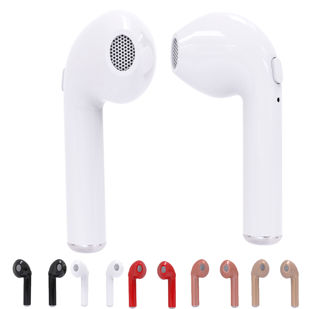 Original TWS i7 Mini Bluetooth Earbud Wireless Invisible Headphone Headset With Mic Stereo bluetooth Earphone for Iphone Android hena earphones i7 mini i7 bluetooth wireless headphones headset with mic stereo bluetooth earphone for iphone 8 7 plus 6s