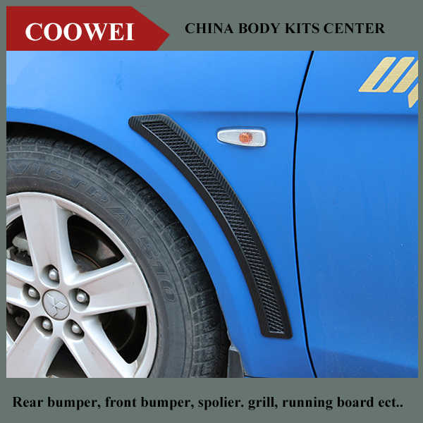 Universal PP Car Side Air Vent Fender Cover Hole Intake Duct