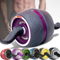No noise Fitness Muscle ABS simulator Abdominal Wheel Exercises AB Roller With Free Mat For Body Building Fitness Equipment