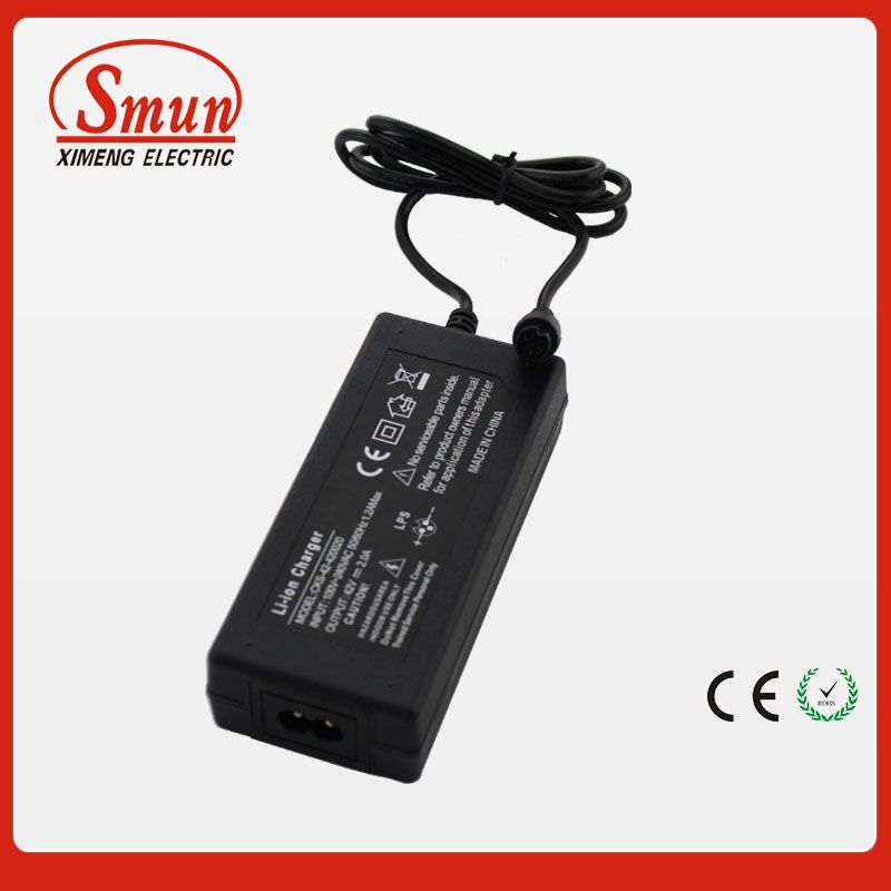 New arrival Li-ion battery charger/adapter for single two wheel electric balance scooter/self balancing scooter 1 year warranty