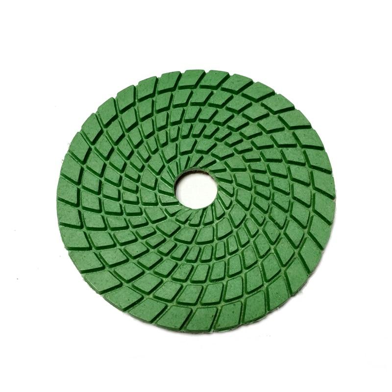 RIJILEI 7 sztuk / zestaw 4 calowe mokre diamentowe podkładki - Elektronarzędzia - Zdjęcie 2