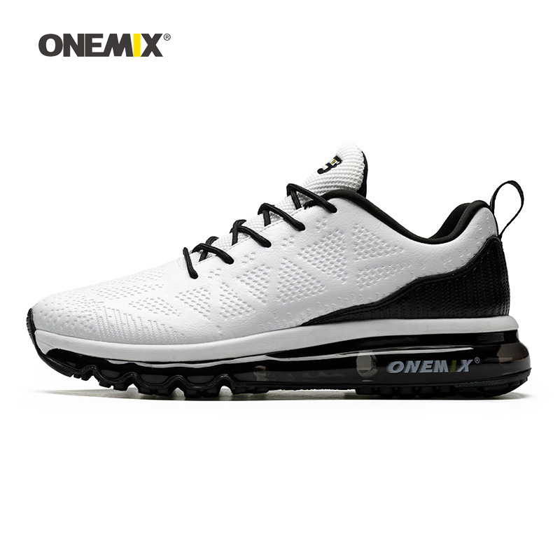 Woman Running Shoes For Women White Microfiber Leather Max Gym Yoga Athletic Sneakers Sports Outdoor Jogging