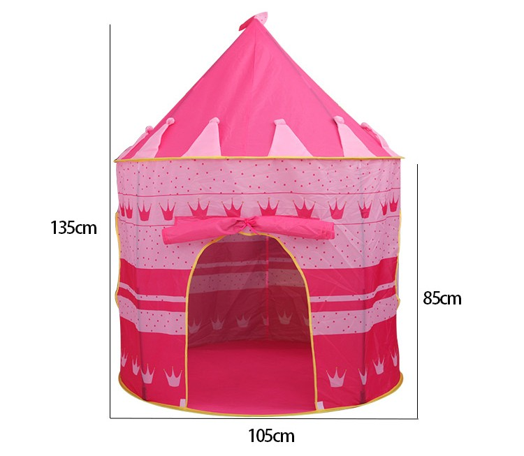 2 Colors Portable Foldable Play Tent Prince Folding Tent Kids Children Boy Castle Cubby Play House Kids Gifts Outdoor Toy Tents-in Toy Tents from Toys ...  sc 1 st  AliExpress.com & 2 Colors Portable Foldable Play Tent Prince Folding Tent Kids ...