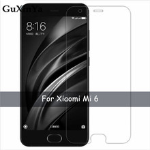 2pcs Tempered Glass Xiaomi Mi 6 Screen Protector For Anti-scratch Mi6 / Phone Film