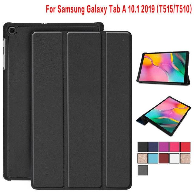 """Caso para Samsung Galaxy Tab A 2019 SM-T510 SM-T515 T510 T515 Tablet soporte de la cubierta del caso para Tab 10,1"""" 2019 tablet caso"""